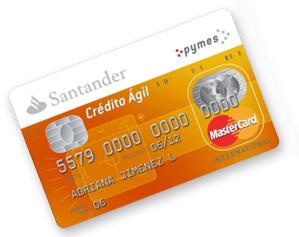 Crédito Ágil de Santander