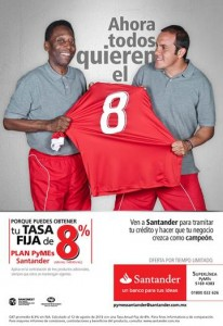 Crédito Pyme Santander Tasa 8%